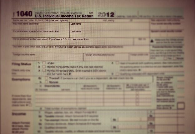 1040 income tax return