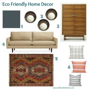 Eco Friendly Home Decor   Www.HelloLittleHome.com