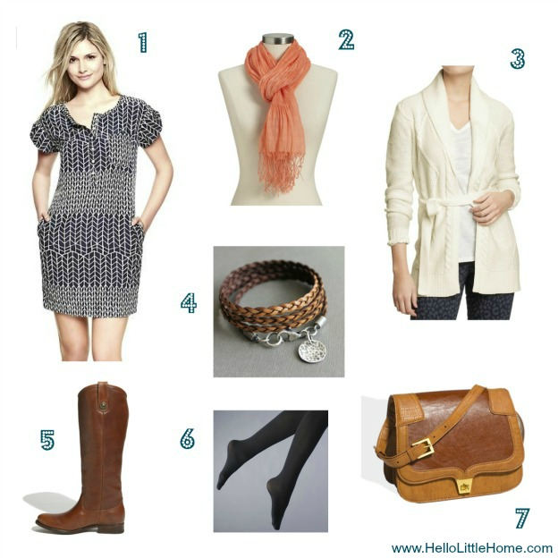 Layers help add spring style to your winter wardrobe: HelloLittleHome.com