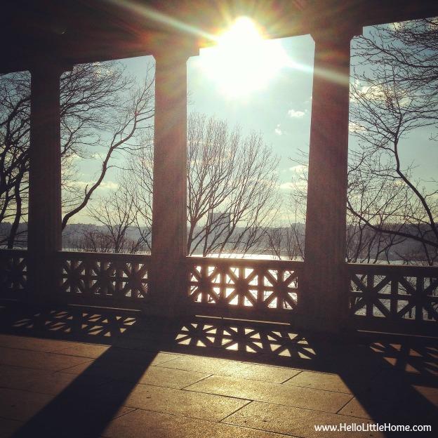Walk in Riverside Park: HelloLittleHome.com