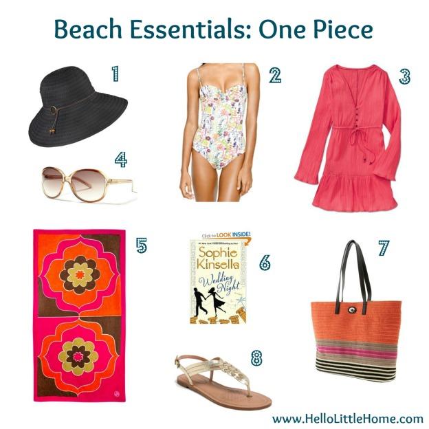 Beach Essentials: One Piece