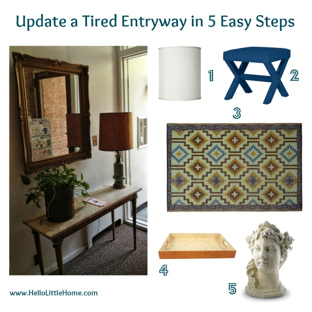 update a tired entryway in 5 easy steps