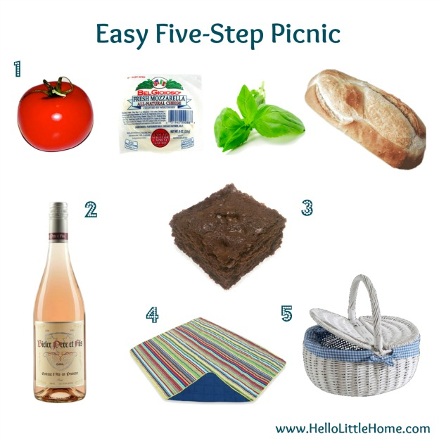 Easy Five Step Picnic