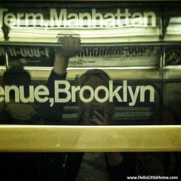 subway selfie