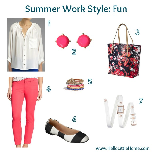 fun summer work style