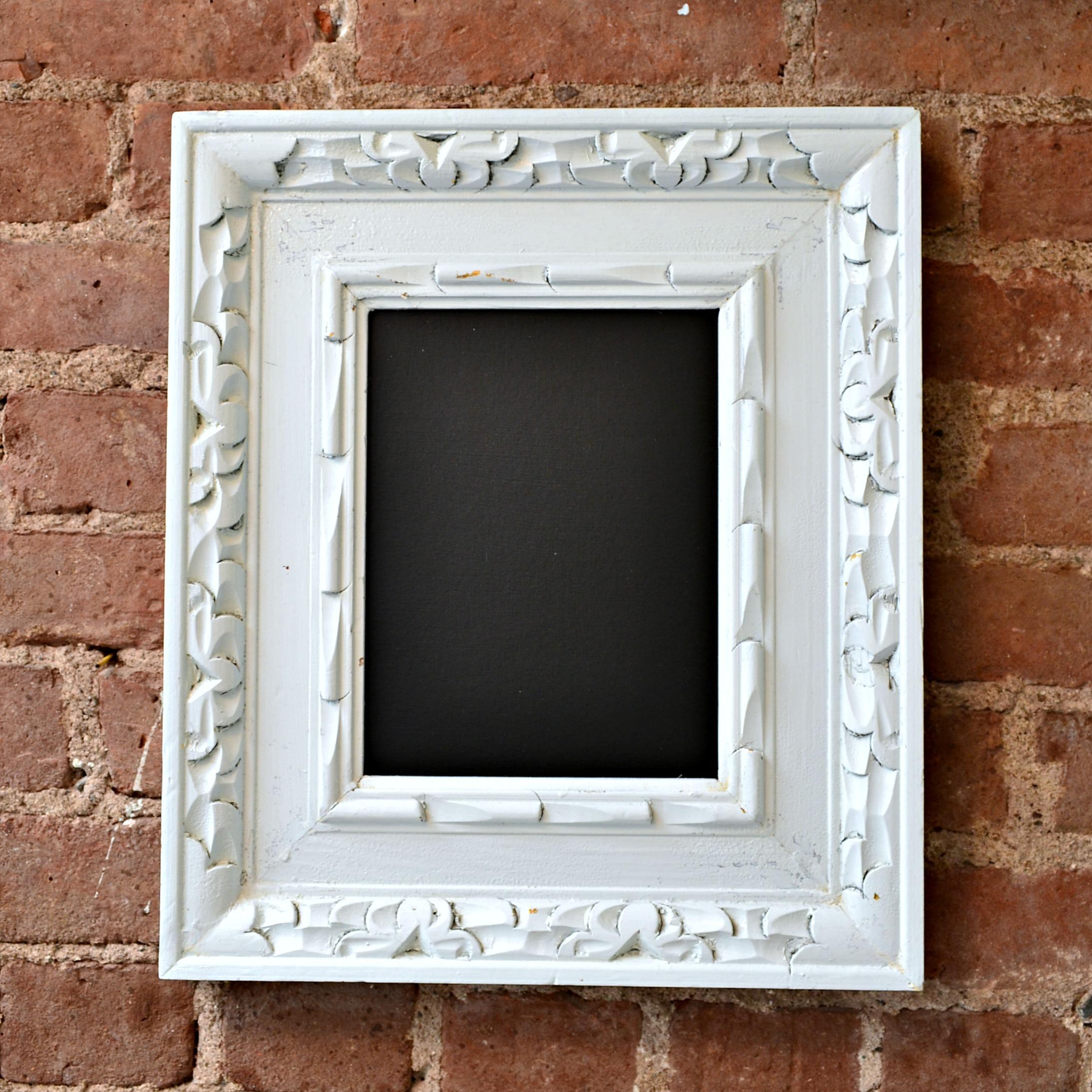 easy diy chalkboard - Diy Chalkboard Frame
