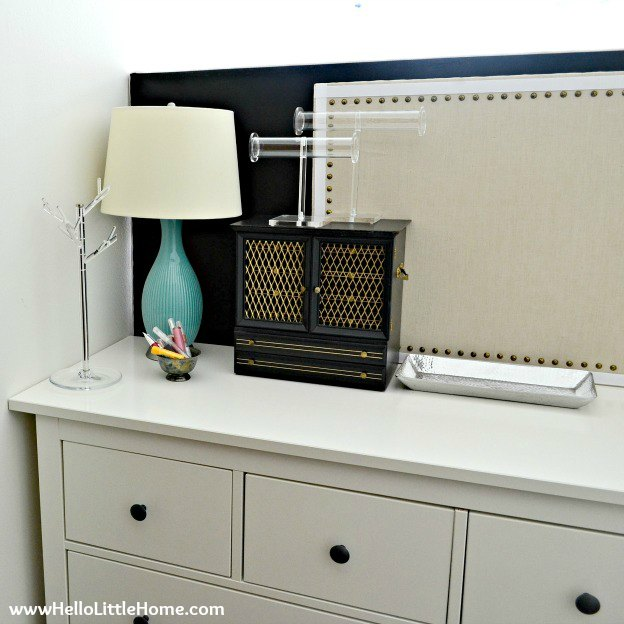 Jewelry Organization | Hello Little Home #InteriorDesign #Decor