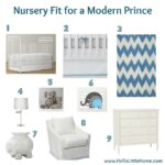 Nursery Fit for a Modern Prince