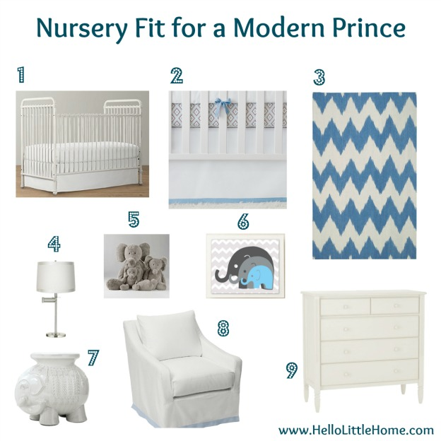 Little Leo S Nursery Fit For A King: Nursery Fit For A Modern Prince