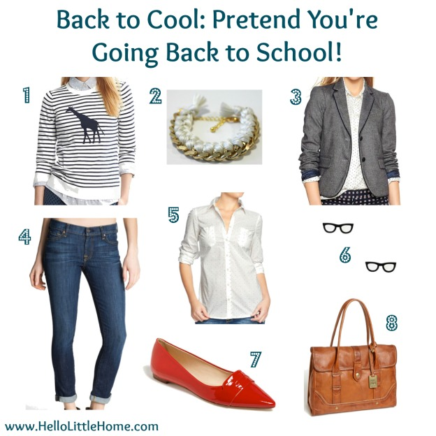 Back to School: Pretend You are Going Back to School