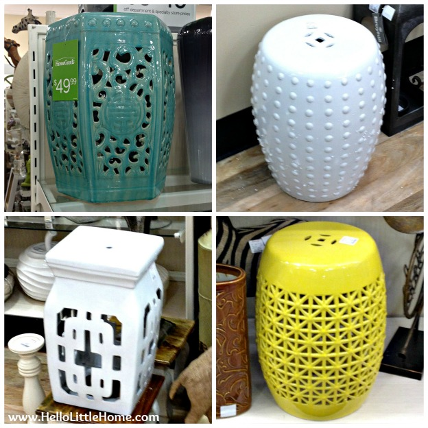 Best Things to Buy at HomeGoods: Garden Stools