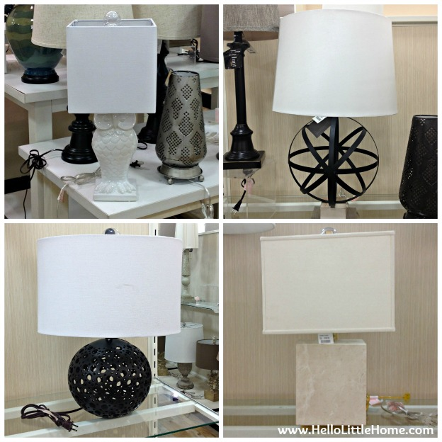Best Things to Buy at HomeGoods: Lamps