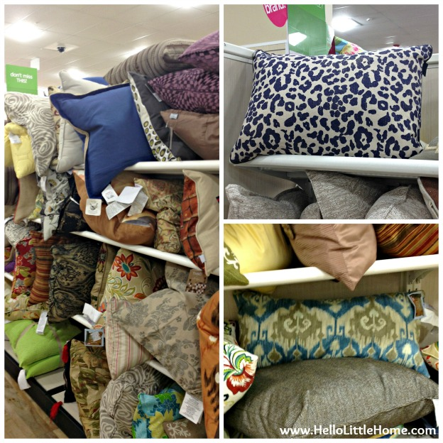 Best Things to Buy at HomeGoods: Pillows
