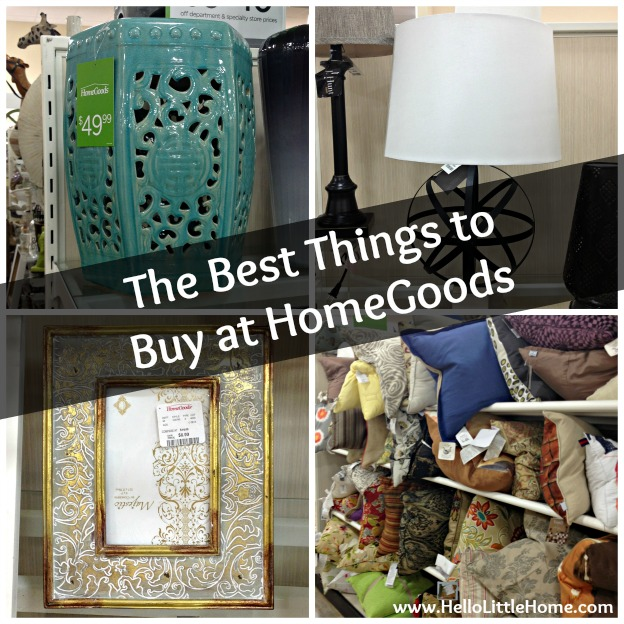 The Best Things to Buy at HomeGoods