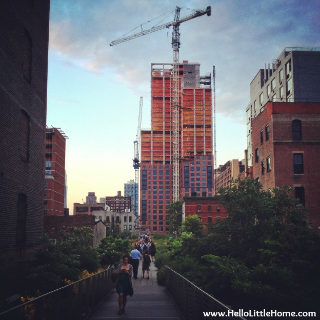 Great View from the New York High Line
