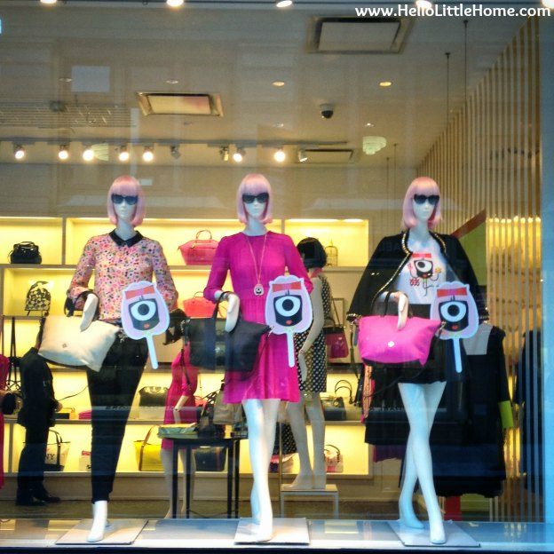 Fun Windows at Kate Spade