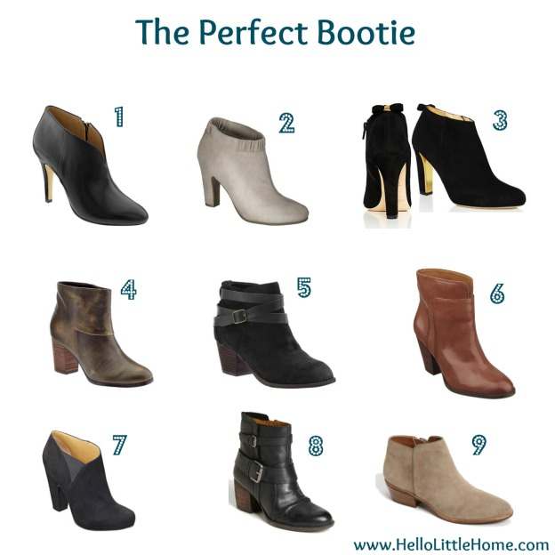 Find the Perfect Fall Bootie