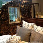 West Elm Log Wall