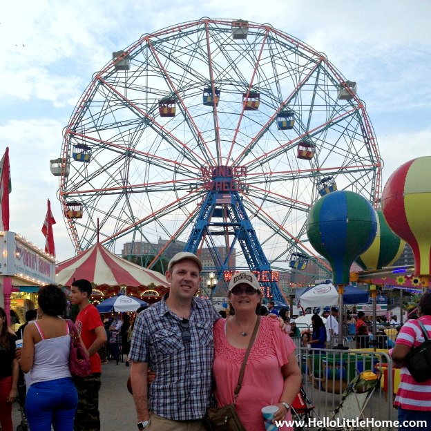 Wonder Wheel at Coney Island