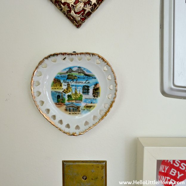 Gallery wall close-up: New Orleans Heart
