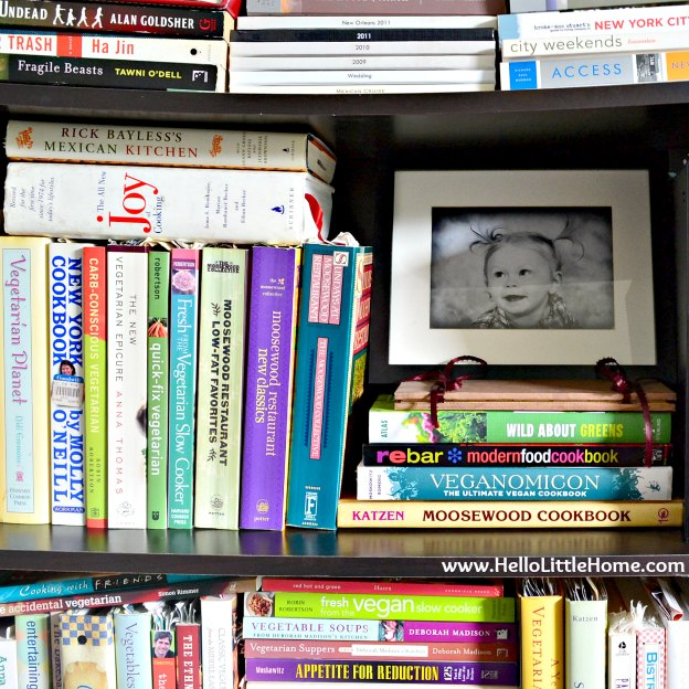 Peek into my home: books