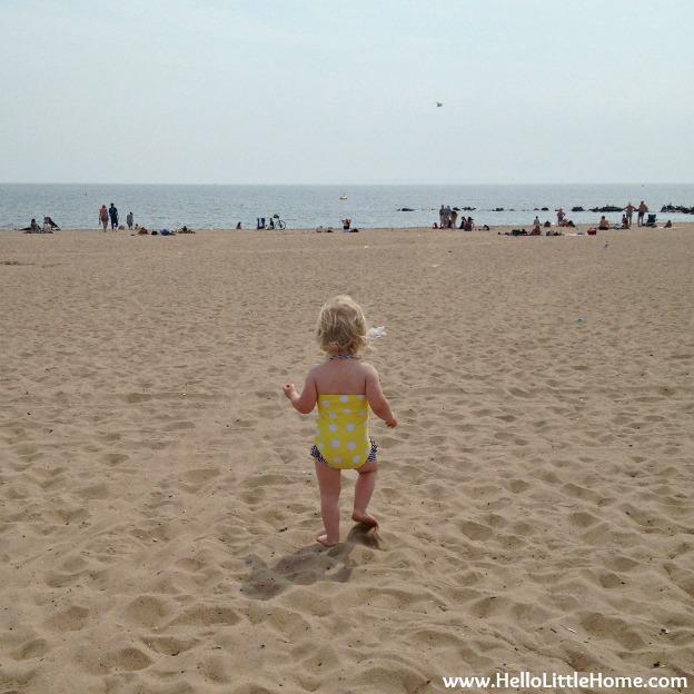 Niece Savanna at Coney Island