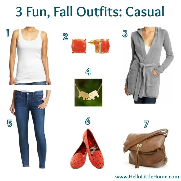 3 Fun, Fall Outfits: Casual