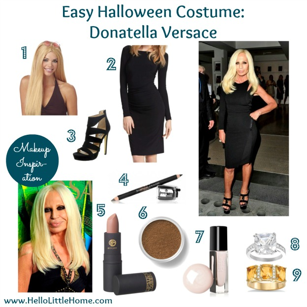 Easy Halloween Costume: Donatella Versace