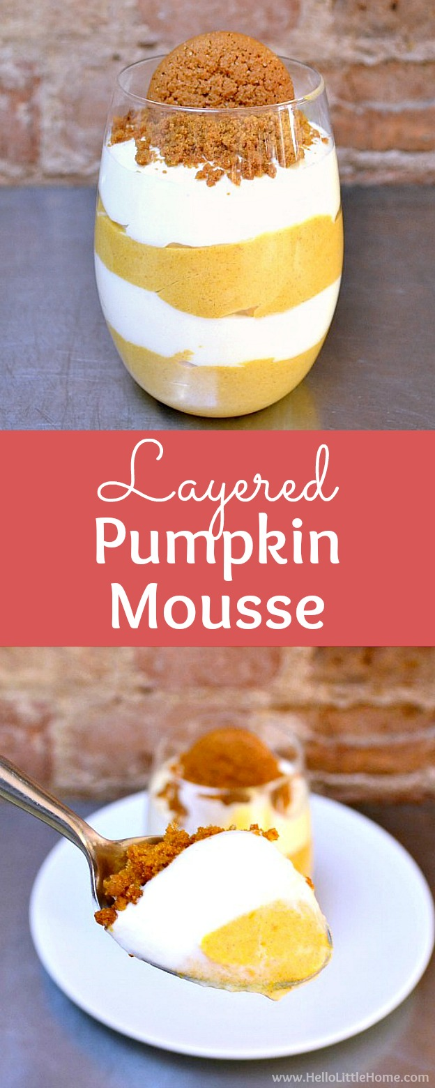 foodie fridays: pumpkin mousse with candied squash ...  |Pumpkin Mouse With Cheese