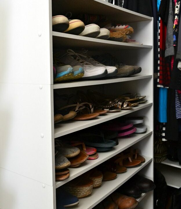 Reorganizing Shoe Rack