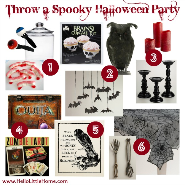 Throw a Spooky Halloween Party