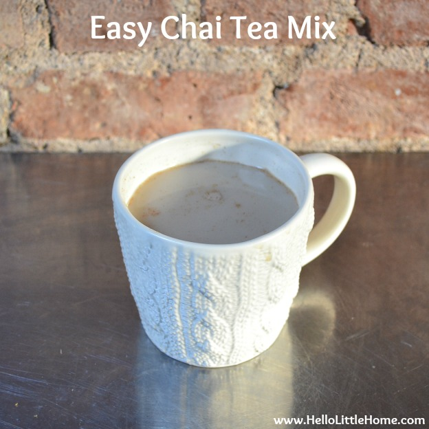 Easy Chai Tea Mix