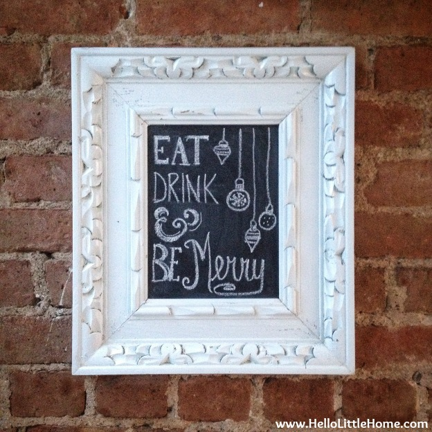 Holiday / Christmas Chalkboard Art