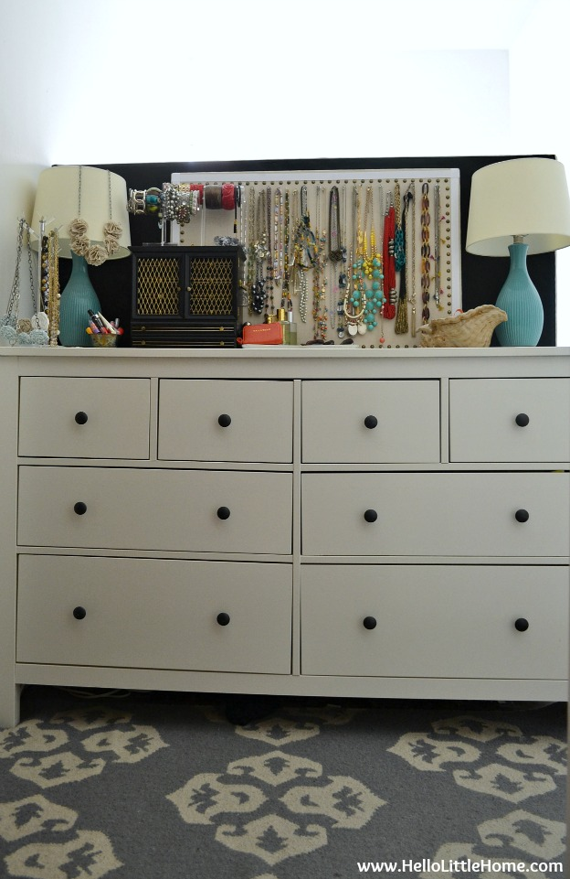 Peek into My Home: Bedroom Dresser