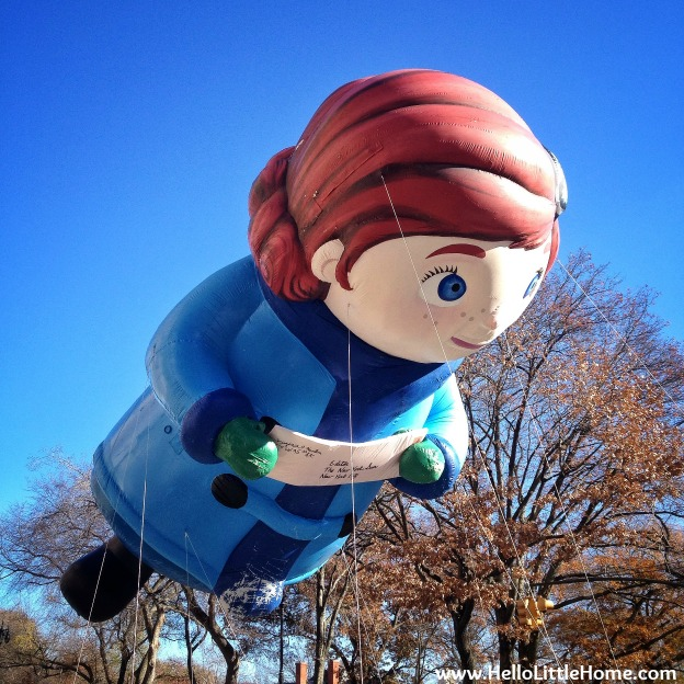 Macy's Thanksgiving Day Parade: Yes, Virginia, there is a Santa Clause!