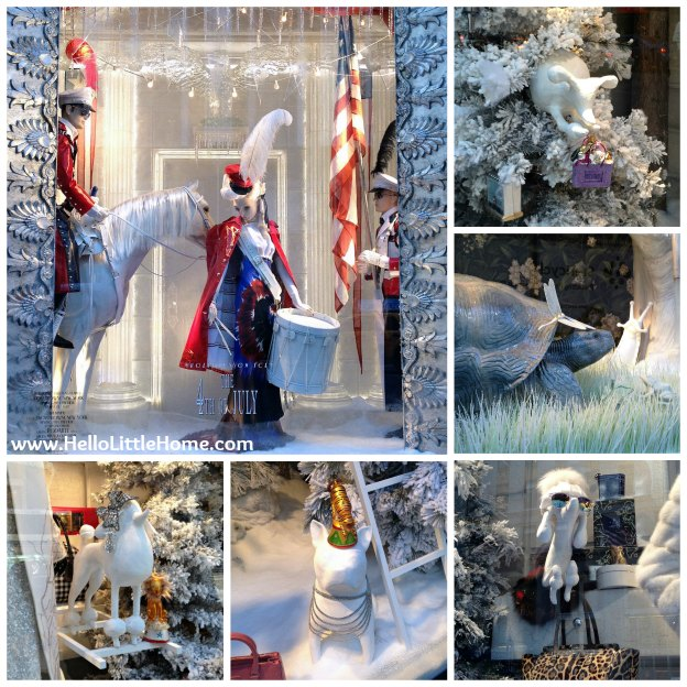 Bergdorf Goodman Holiday Windows | Hello Little Home