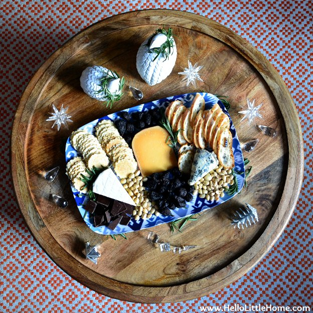 Simple Holiday Entertaining: Luxe Cheese Tray (Plus, Cyber Monday Deals!) | Hello Little Home