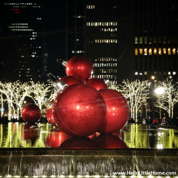 NYC Holiday Decorations | Hello Little Home