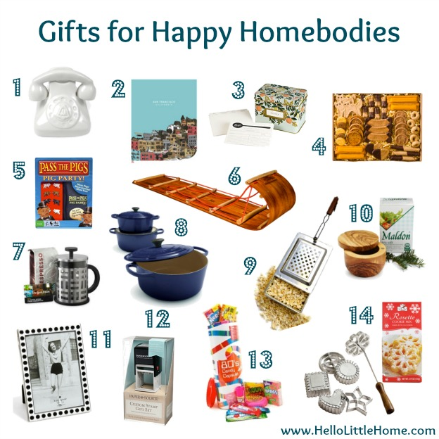 Gifts for Happy Homebodies