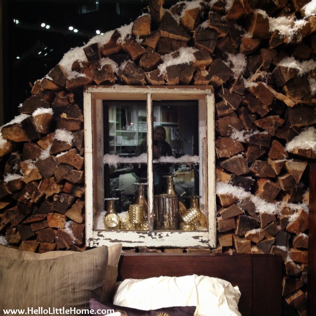 Holiday Display at West Elm