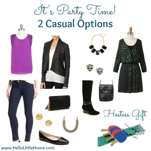 It's Party Time! 2 Casual Outfit Options | Hello Little Home