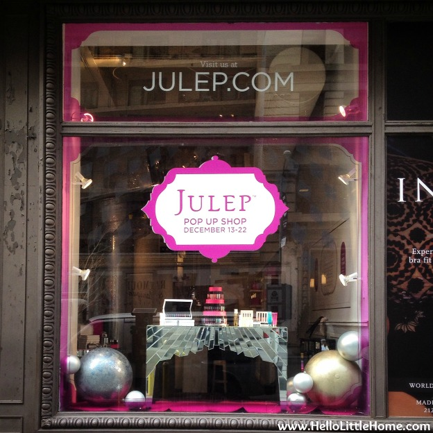 Julep Pop Up Shop | Hello Little Home