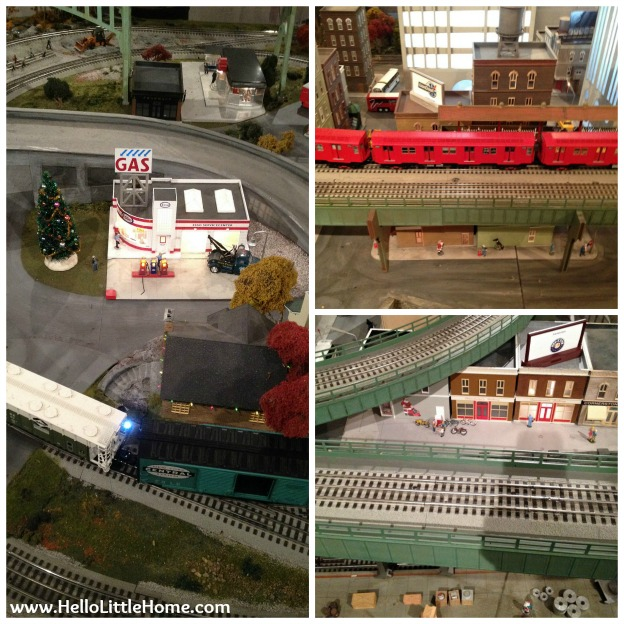 NYC Transit Museum Holiday Decorations | Hello Little Home