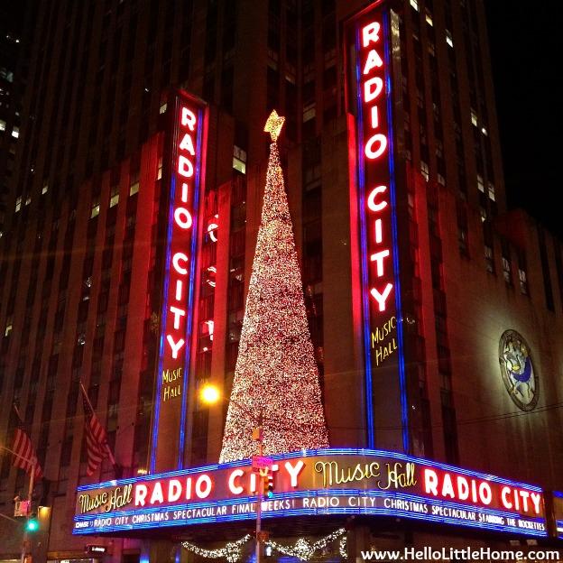 Radio City Christmas Tree   Hello Little Home
