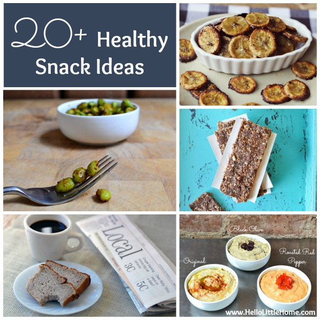 20+ Healthy Snack Ideas | Hello Little Home