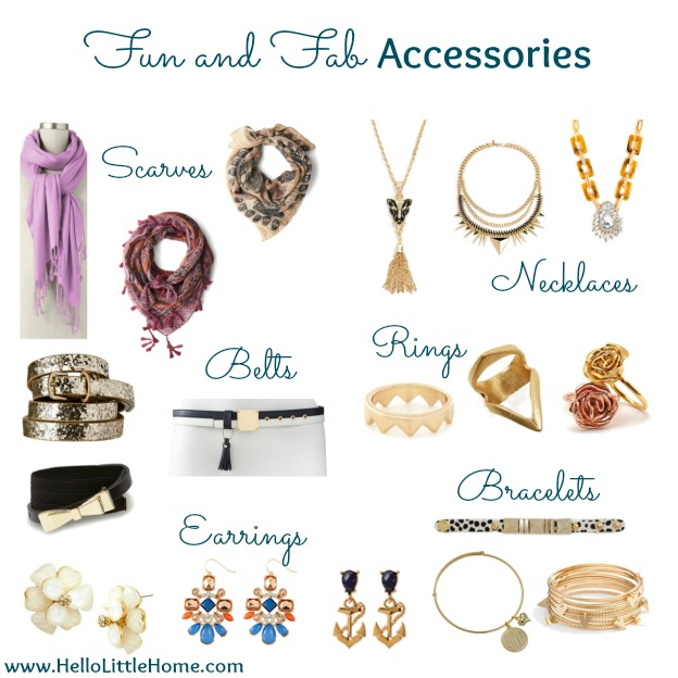 Fun and Fab Accessories | Hello Little Home