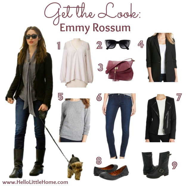 Get the Look: Emmy Rossum | Hello Little Home