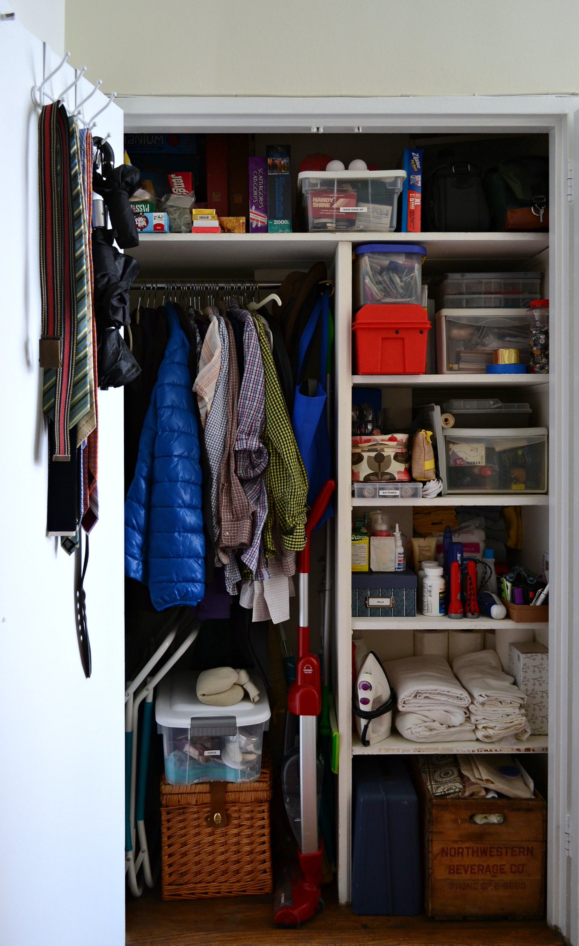 Hall Closet Makeover: After | Hello Little Home