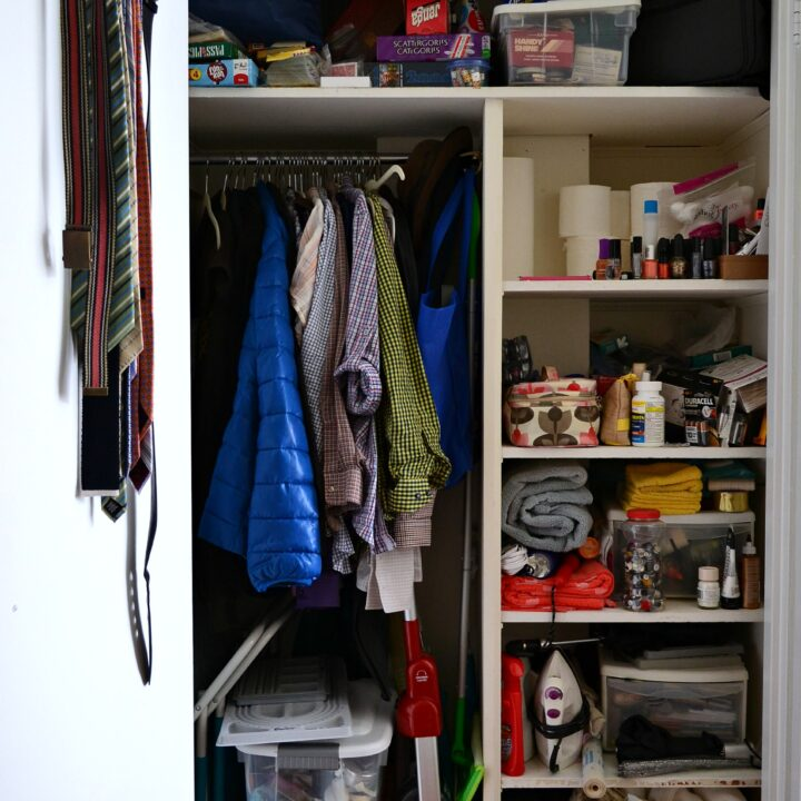 Hall Closet Makeover: Before | Hello Little Home