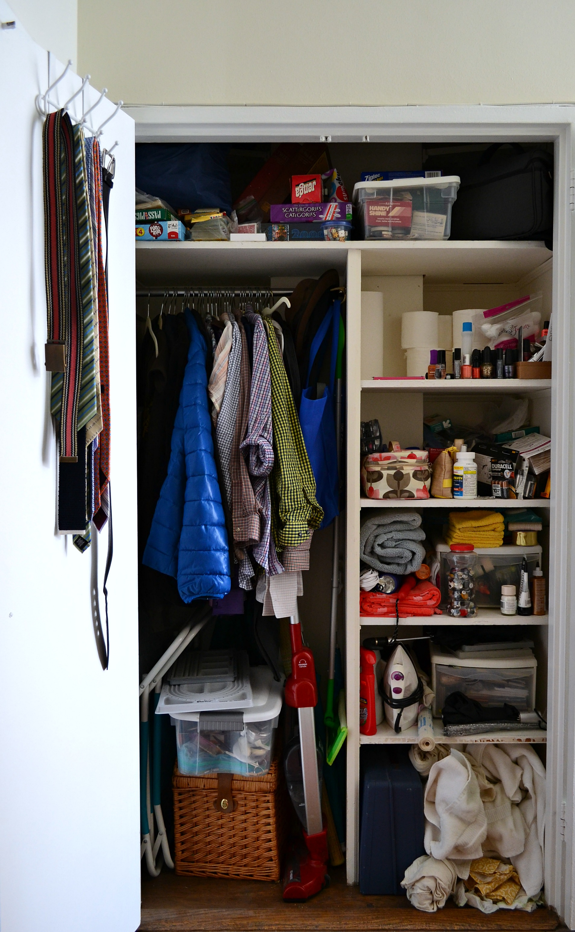 Hall Closet Makeover Before
